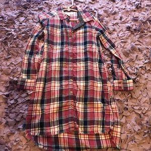 Treasure & bond flannel dress